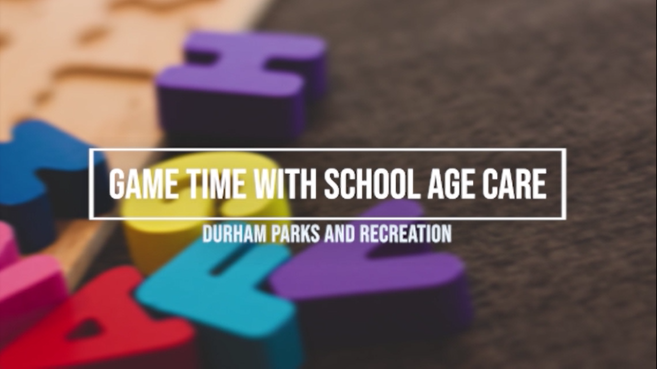 game time with school age care