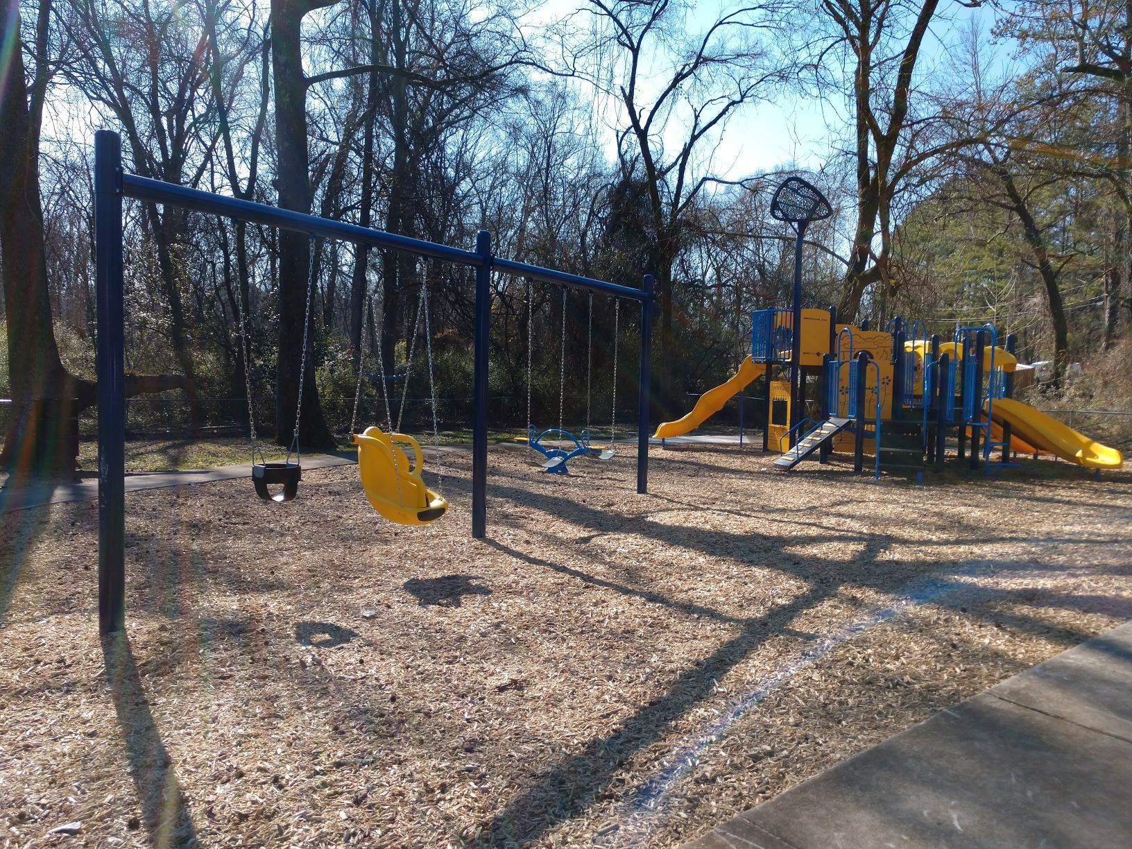 Drew Granby Park Swings and Playground