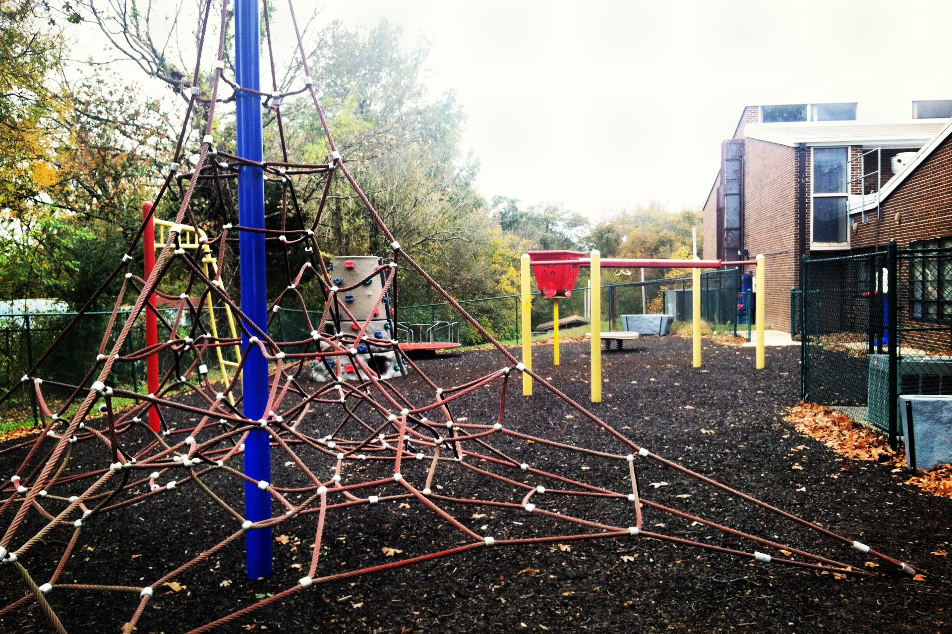 W.D. Hill Recreation Center Rope Jungle Gym
