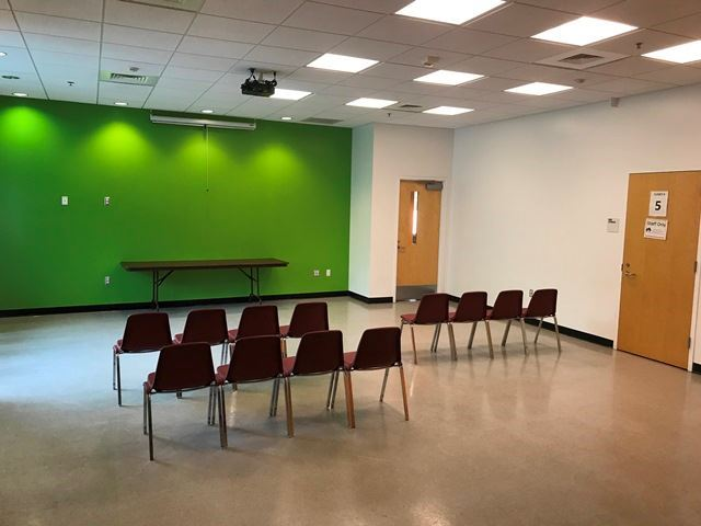Walltown Park Recreation Center Multipurpose Room Back