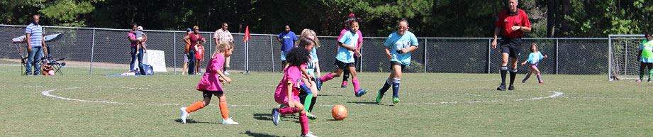 Durham Girls Soccer League practice