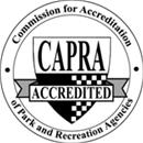 Commission of Accreditation of Parks and Recreation Agencies (CAPRA) Accredited Badge